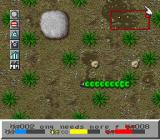 SimAnt: The Electronic Ant Colony SNES caterpillar