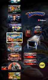 The Pinball Arcade Android Table selection