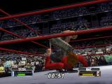 WWF No Mercy Nintendo 64 The sharpshooter being applied