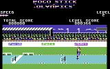 Pogostick Olympics Commodore 64 110m Hurdles