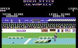Pogostick Olympics Commodore 64 Obstacle Course