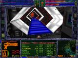 System Shock DOS Cool corridor structures, some weapon info, automap to the right... what else do you need in this life, friend?..