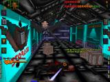 System Shock DOS Not just any mutant, but an AVIAN mutant! It's a good thing that I walked into this storage room with my trusty laser rapier unsheathed!..