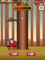 Timberman iPad Ready to go with Timber Claus
