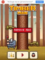Timberman iPad I have unlocked Jason