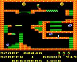 Karls Kavern BBC Micro Jumping over an obstacle