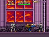 Last Action Hero SNES Jack has to fight through a mob of pistol-wielding mobsters using only his hands and feet... which sucks for you. Why can't he have a gun? He had a gun in the movie...