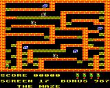 Karls Kavern BBC Micro Screen 17: The maze