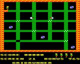 Karls Kavern BBC Micro Screen 21: Gridrunner