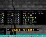 Amiga Fun: Ausgabe 1/93 Amiga Game over screen