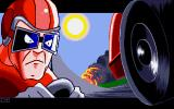 Race Drivin' Amiga Opening screen