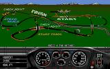 Race Drivin' Amiga Normal track overview