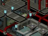 Twinsen's Odyssey DOS A futuristic base. You just fell into poisonous liquid and died...
