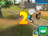 Thomas & Friends: Go Go Thomas! iPad Countdown to start the race against Toby