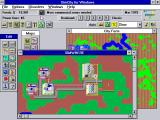 SimCity Windows 3.x Starting a new city...