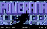 Powerama Commodore 64 Title Screen