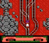 The Fantastic Adventures of Dizzy NES Riding in mines