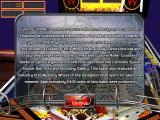 The Pinball Arcade iPad Info about Cyclone
