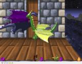 3D Dragon Duel Windows Ooops! The enemy dragon got me That's one life gone