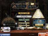 The Mystery of the Crystal Portal iPad Title and main menu
