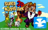 Super Noah's Ark 3-D DOS Title screen