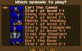 Super Noah's Ark 3-D DOS Which episode to play?