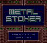 Metal Stoker TurboGrafx-16 Title screen