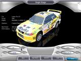 Rally Championship Xtreme Windows Car selection - Lancer Evo VI - cars are spinning