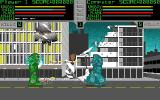 Metal: A Robot Combat Simulation  Amiga Missile launched