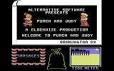 Punch & Judy Commodore 64 Title Screen