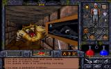 "Ultima Underworld II: Labyrinth of Worlds DOS Wow meow! This ""trilkhun"" - or whatever else you wish to call a glorified feline - doesn't seem too peaceful to me!.. Wait... Is that because I attacked first?.."