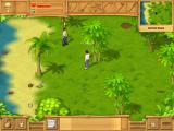 The Island: Castaway iPad The yellow explanation point means he wants to talk to me