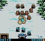 Warlocked Game Boy Color Attacking enemy forces!