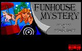 Mystery Fun House PC-88 Title screen