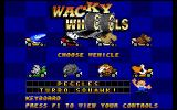 Wacky Wheels Windows Select your racer