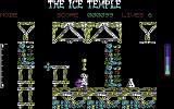 The Ice Temple Commodore 64 The starting location