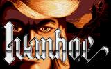 Ivanhoe Amiga Title screen