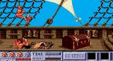 Ivanhoe Amiga Level 2 - 'flying' pirate just stolen your life