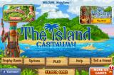 The Island: Castaway iPhone Title and main menu