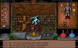 Ultima Underworld: The Stygian Abyss DOS I'd never guess it is currently morning... And guys... can't we all just get along? I get nervous when attacked by giant spiders, maniacal trees, and lightning spells. I'm weird that way