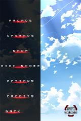 Danmaku Unlimited iPhone Main menu