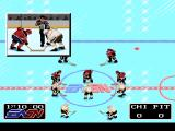 NHLPA Hockey '93 SNES Game Start