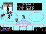 NHLPA Hockey '93 SNES Goal