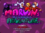 Marvin's Marvellous Adventure Amiga Menu