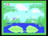 Intellivision Lives! Xbox Frog Bog - Jump back and forth, collecting bugs on your tongue.