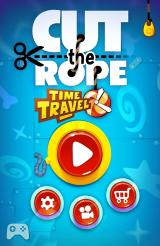 Cut the Rope: Time Travel Android Title screen