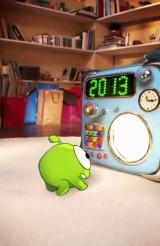 Cut the Rope: Time Travel Android Intro: Om Nom and the time machine