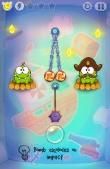 Cut the Rope: Time Travel Android You get bombs on Pirate ship