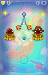 Cut the Rope: Time Travel Android The bomb just exploded