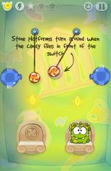 Cut the Rope: Time Travel Android Platform switches are introduced in Greece